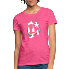 T-Shirt | Unicorn Yoga-Women's T-Shirt-get2shirts