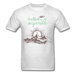 Nothing is impossible | Men's T-Shirt-Men's T-Shirt-get2shirts
