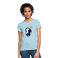 T-Shirt | Cat unicorn fart-Women's T-Shirt-get2shirts