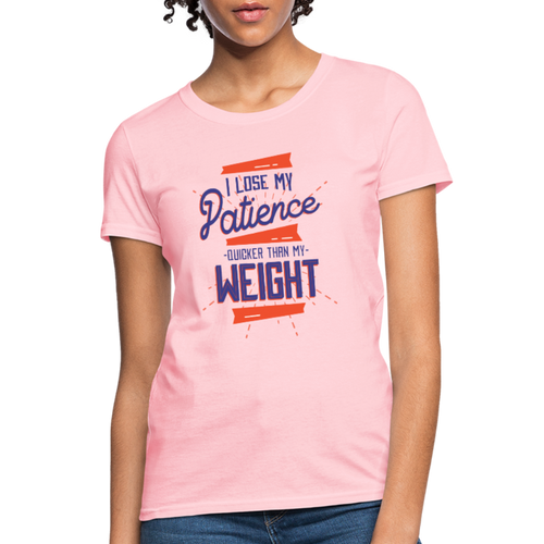 T-Shirt | lose weight - pink