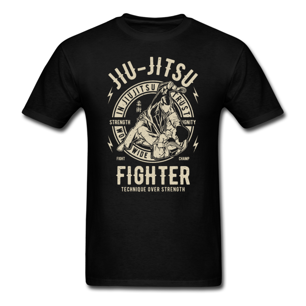 Jiu Jitsu Fighter | Men's T-Shirt-Men's T-Shirt-get2shirts