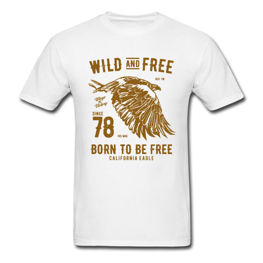 Eagle - Wild And Free | Men's T-Shirt-Men's T-Shirt-get2shirts