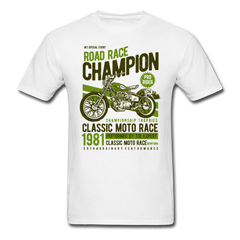 Motorcycle Road Race Champion | Men's T-Shirt-Men's T-Shirt-get2shirts