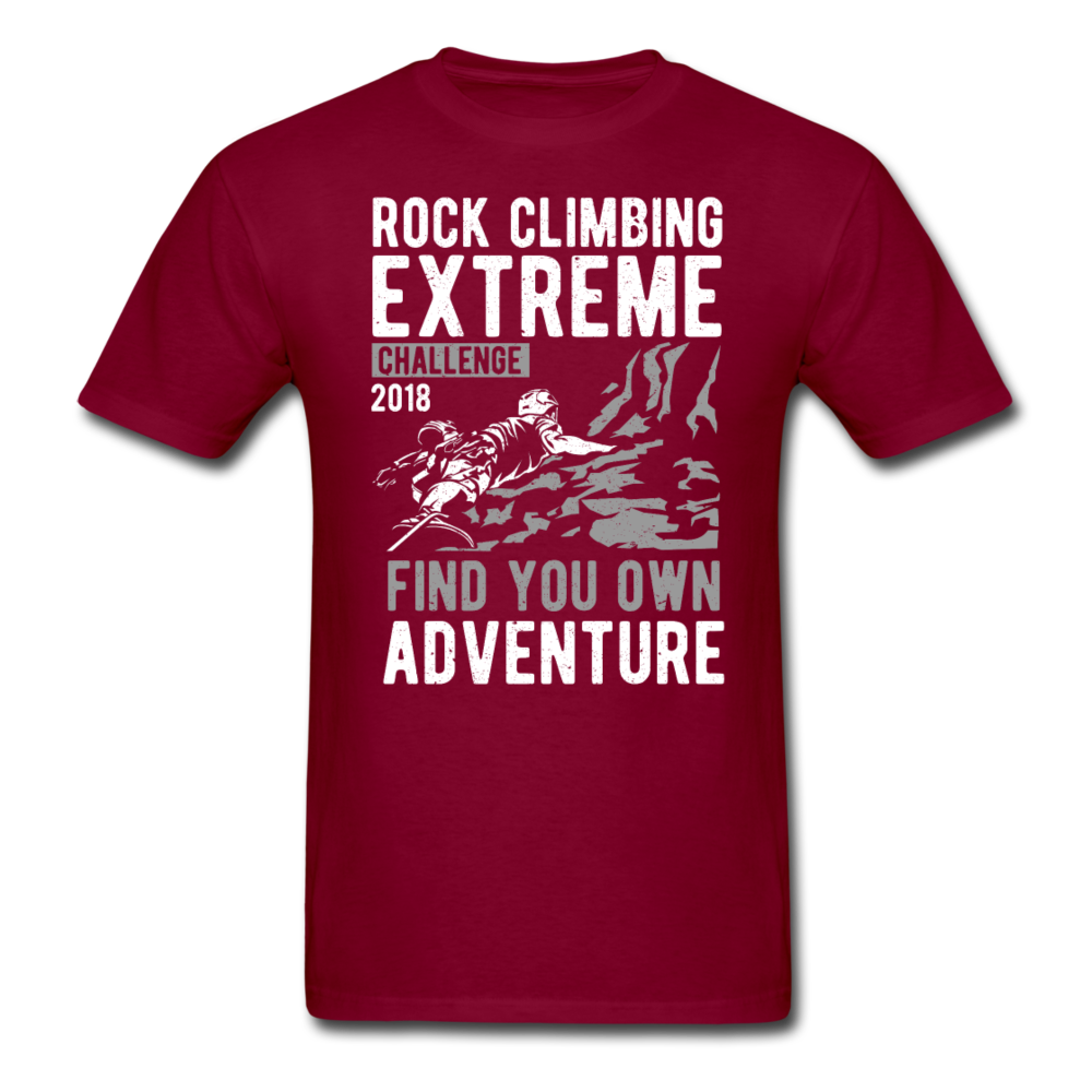 Rock Climbing Extreme - Find your own Adventure | Men's T-Shirt-Men's T-Shirt-get2shirts