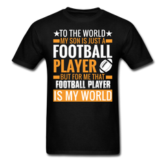 Football Dad & Son | Men's T-Shirt-Men's T-Shirt-get2shirts