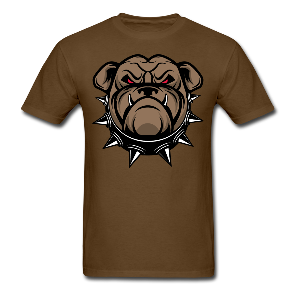 Angry Dangerous Bulldog Men Black White Regular Shirt S-6XL-Men's T-Shirt-get2shirts