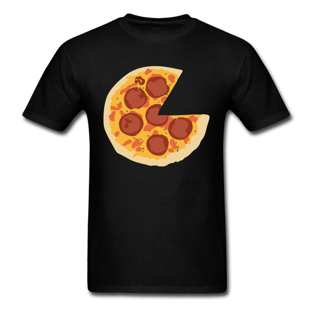 Pizza Slice Missing - I Love Pizza | Men's T-Shirt - black