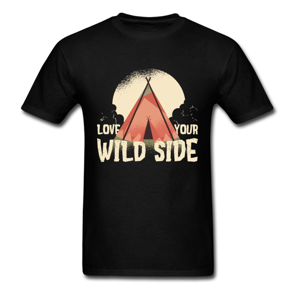 Camping - Wilderness Love Your Wild Side | Men's T-Shirt-Men's T-Shirt-get2shirts