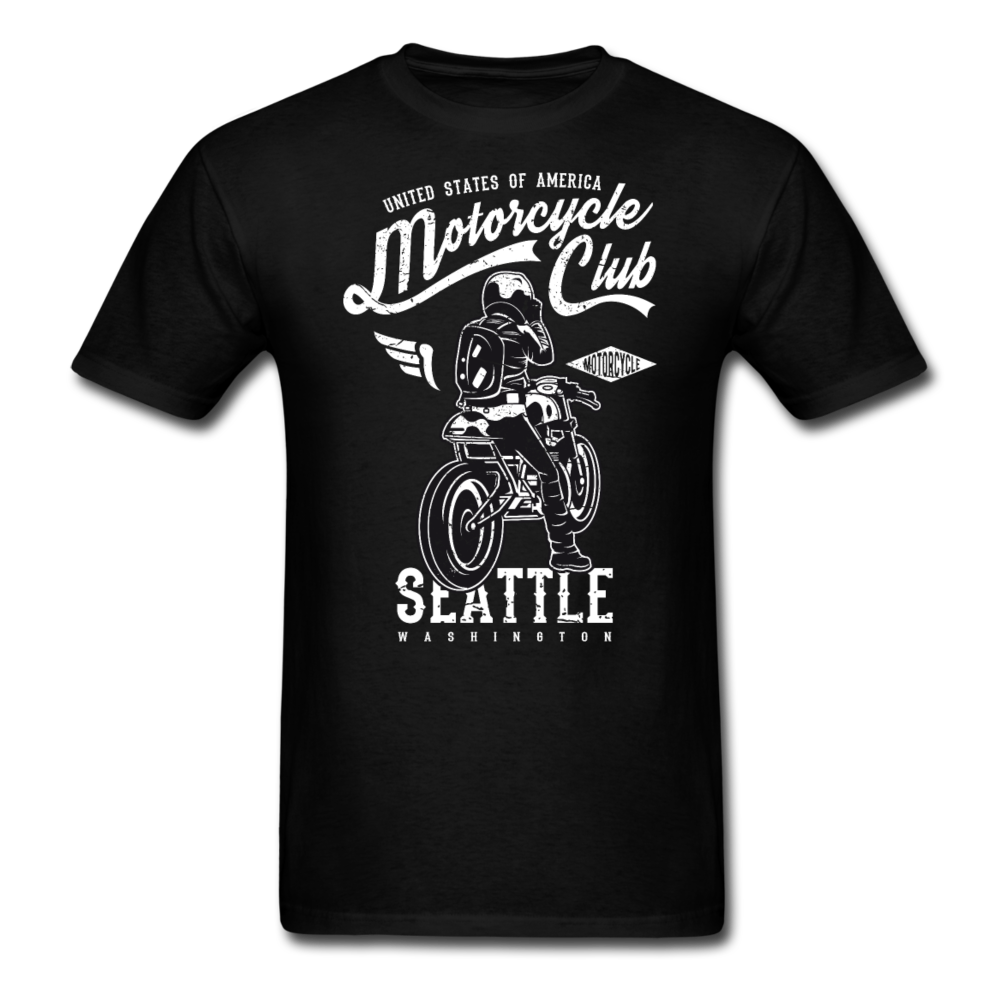 Motorcycle Club Seattle Washington | Men's T-Shirt-Men's T-Shirt-get2shirts