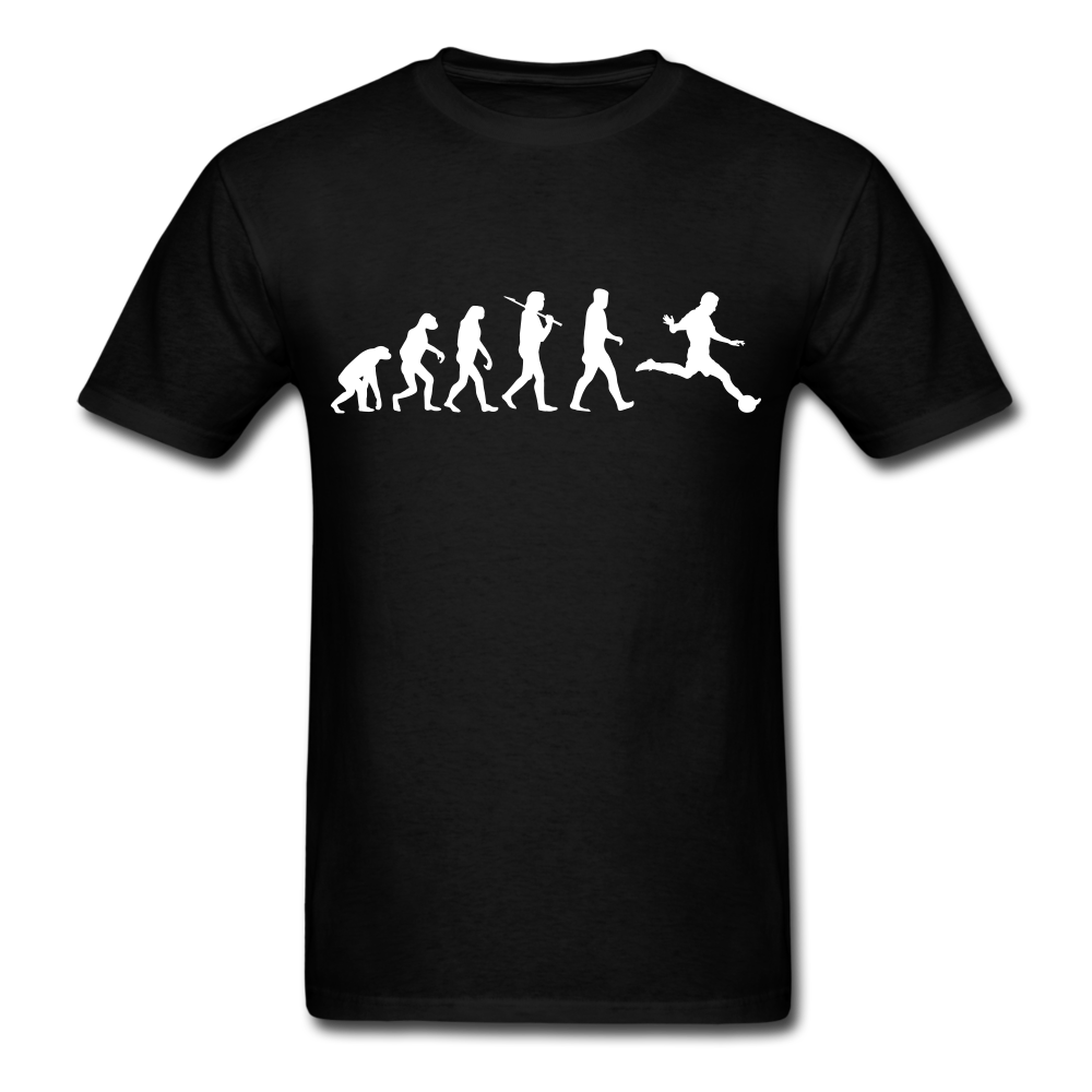 Evolution of Soccer | Men's T-Shirt - black