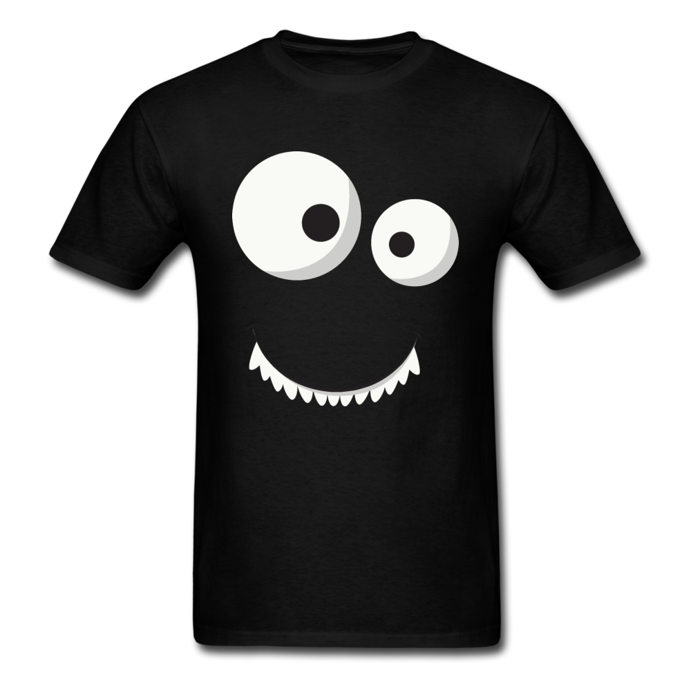 Funny Comic Monster Face | Men's T-Shirt-Men's T-Shirt-get2shirts