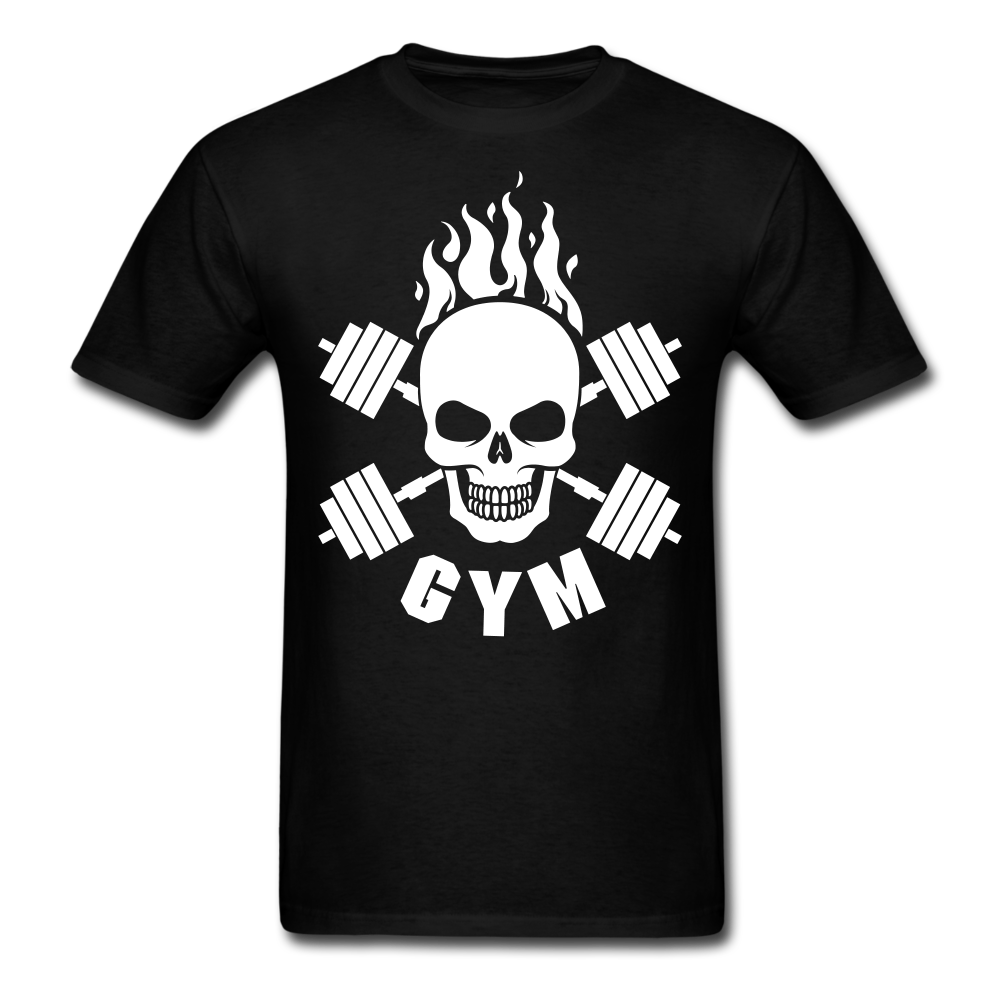 Skull Cross Bones Gym | Men's T-Shirt-Men's T-Shirt-get2shirts