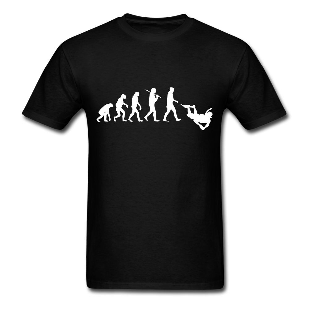 Evolution Of Diving | Men's T-Shirt-Men's T-Shirt-get2shirts