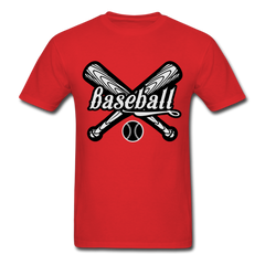 Baseball Mens Funny Fan Shirt-Men's T-Shirt-get2shirts