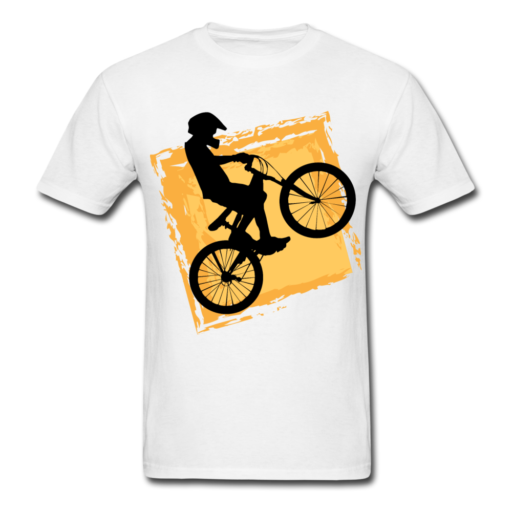 BMX Retro Racing Shirt Motocross Bike Tee-Men's T-Shirt-get2shirts