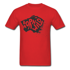 Born To Wild Funny Angry Tiger Shirt Wilderness Outdoor Tee-Men's T-Shirt-get2shirts