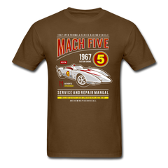 Speed Racer 1967 Mach Five - 60's Retro TV | Men's T-Shirt-Men's T-Shirt-get2shirts