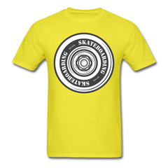 Skateboard Spitfire Wheel Tee Skateboarding Men T-Shirt S-6XL-Men's T-Shirt-get2shirts