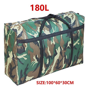 sort out artifact  travel bag canvas portable women baggage bag large capacity 40L 100L 180L big storage bag sacks extra large