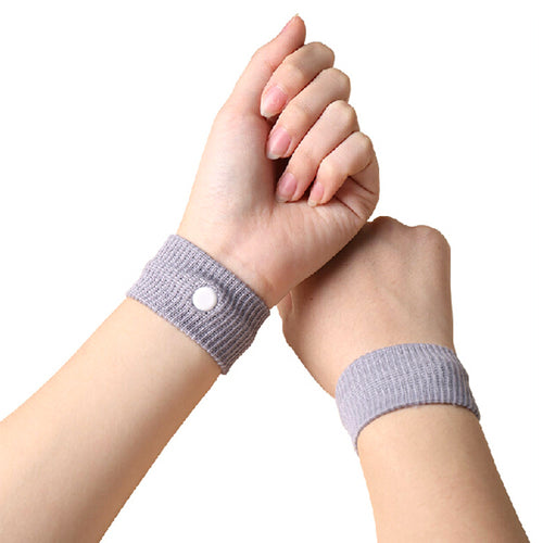 1PC Best Price Anti Nausea Wristbands Car Anti Nausea Sickness Reusable Motion Sea Sick Travel Wrist Bands