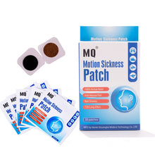 Load image into Gallery viewer, MQ Motion Sickness Patch Relieve Carsickness Airsickness Seasickness Anti-nausea  Fast Non Drowsy Long Effect Travel Partner