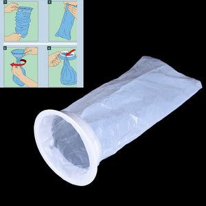 Disposable Emesis Bag Bag Puke Travel or Emergency Sick Hospital Air Sickness Emesis Bag 1Pc Medical Sick Vomit Bag 1000ML