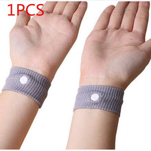Load image into Gallery viewer, 1/2PCS Cotton Adjustable Wrist Band Travel Reusable Anti Nausea Wristbands Sickness Car Motion Sea Sick Ship Plane