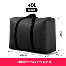 Load image into Gallery viewer, sort out artifact  travel bag canvas portable women baggage bag large capacity 40L 100L 180L big storage bag sacks extra large