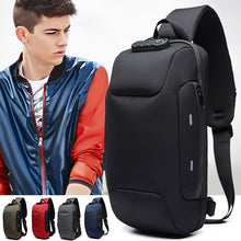 Load image into Gallery viewer, 2019 Hot Sale Anti-theft Backpack With 3-Digit Lock Shoulder Bag Waterproof for Mobile Phone Travel MSJ99