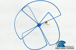 Skew-Planar-Wheel Antenna