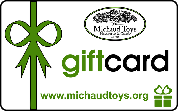 Michaud Toys Gift Card