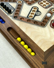 Marbles and Dice (both 2-4 & 2-6 Player on same board)