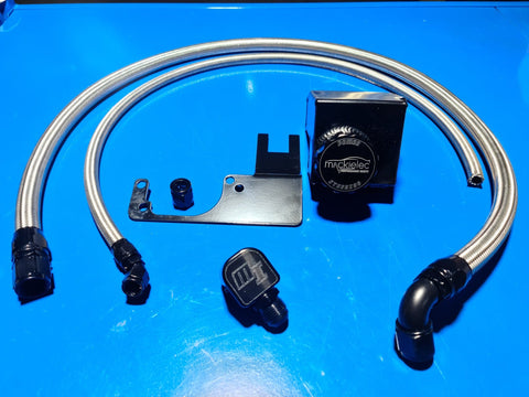 Ford Barra Power steering Bottle Relocation Kit