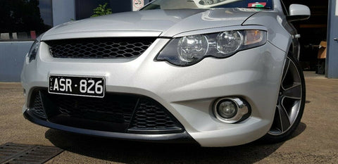 Ford FG XR6, XR8 and FPV GS Front Upper Ford Logo Badge Delete Mesh Honeycomb Grill