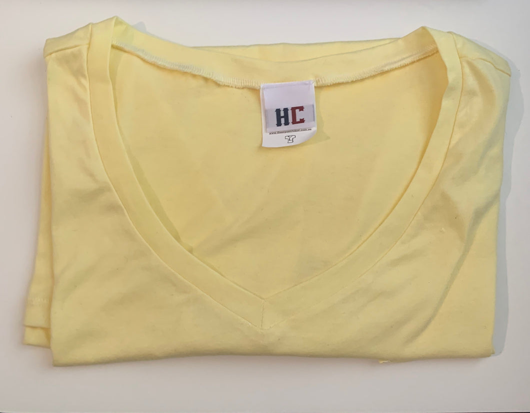 World's Comfiest T-Shirt Yellow