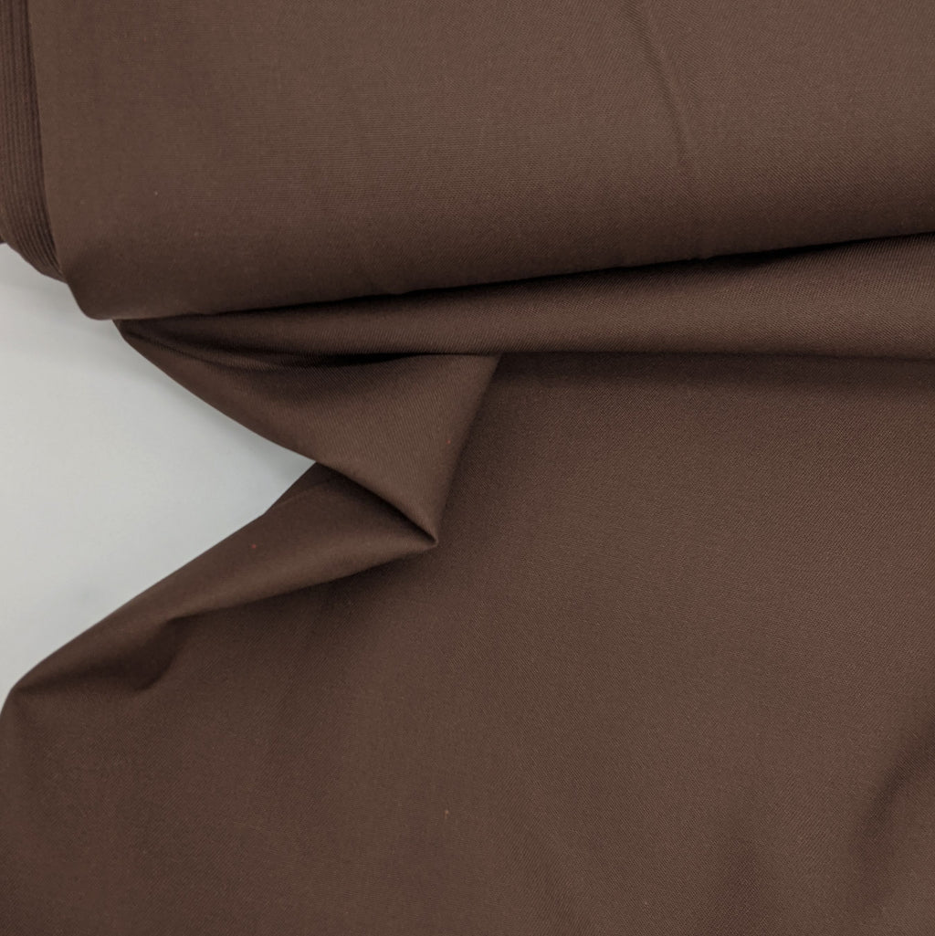 Tencel/Cotton Blend - Chocolate Brown