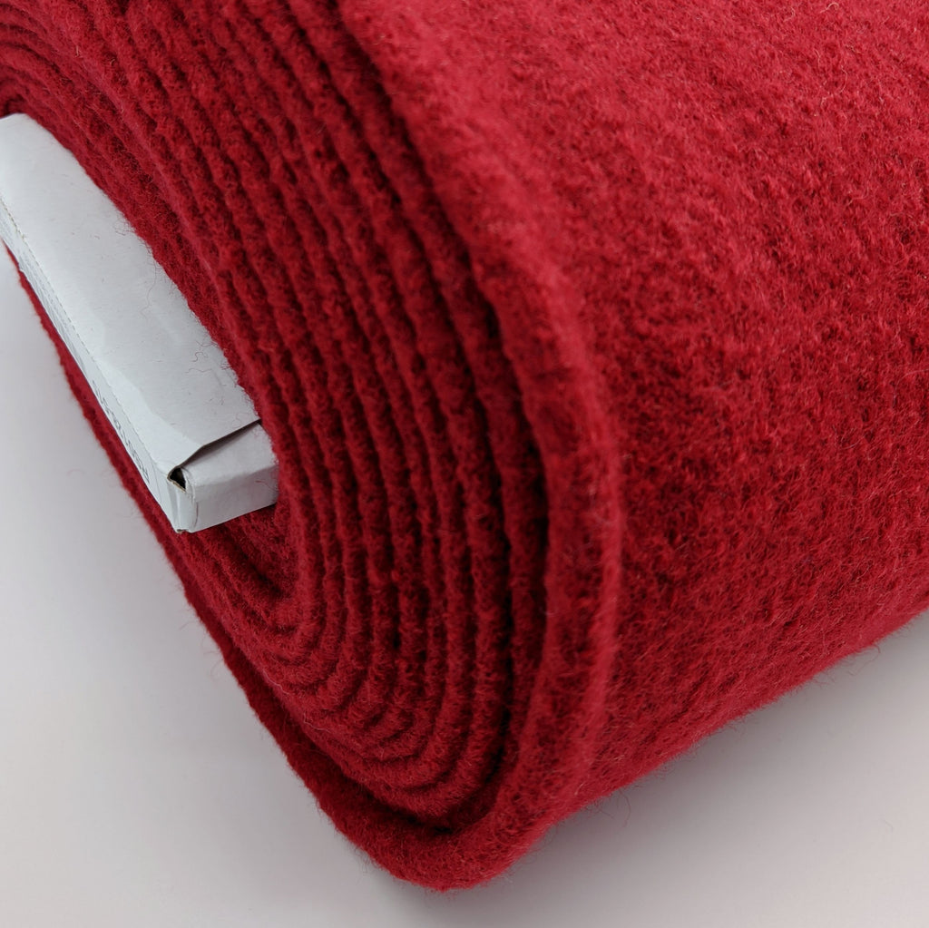 Boiled Wool - Classic Red