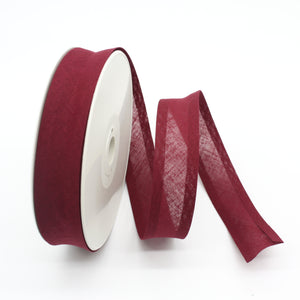 100% Cotton Bias Binding - Wine
