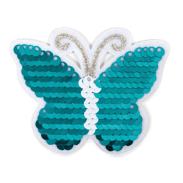 Iron on Motif - Flip Sequin Butterfly