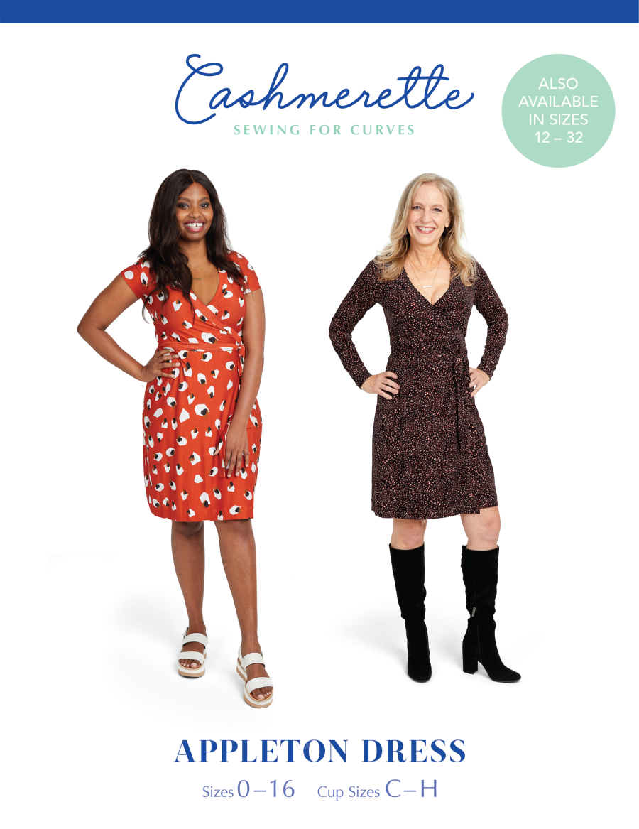 Cashmerette Appleton Dress Sizes 0-16