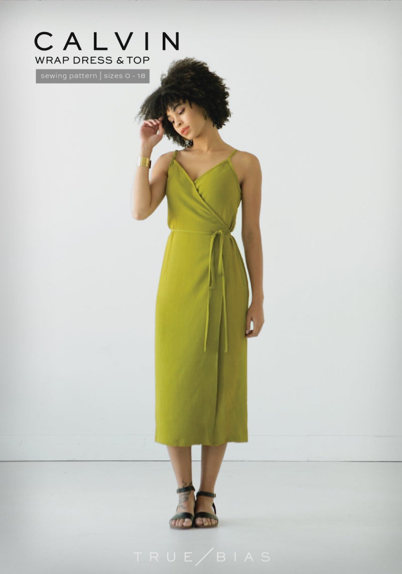 True Bias Calvin Wrap Dress & Top