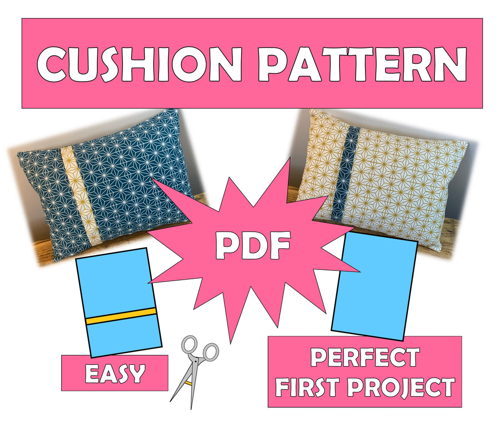 Make! The Lakes - Envelope Cushion - PDF Pattern