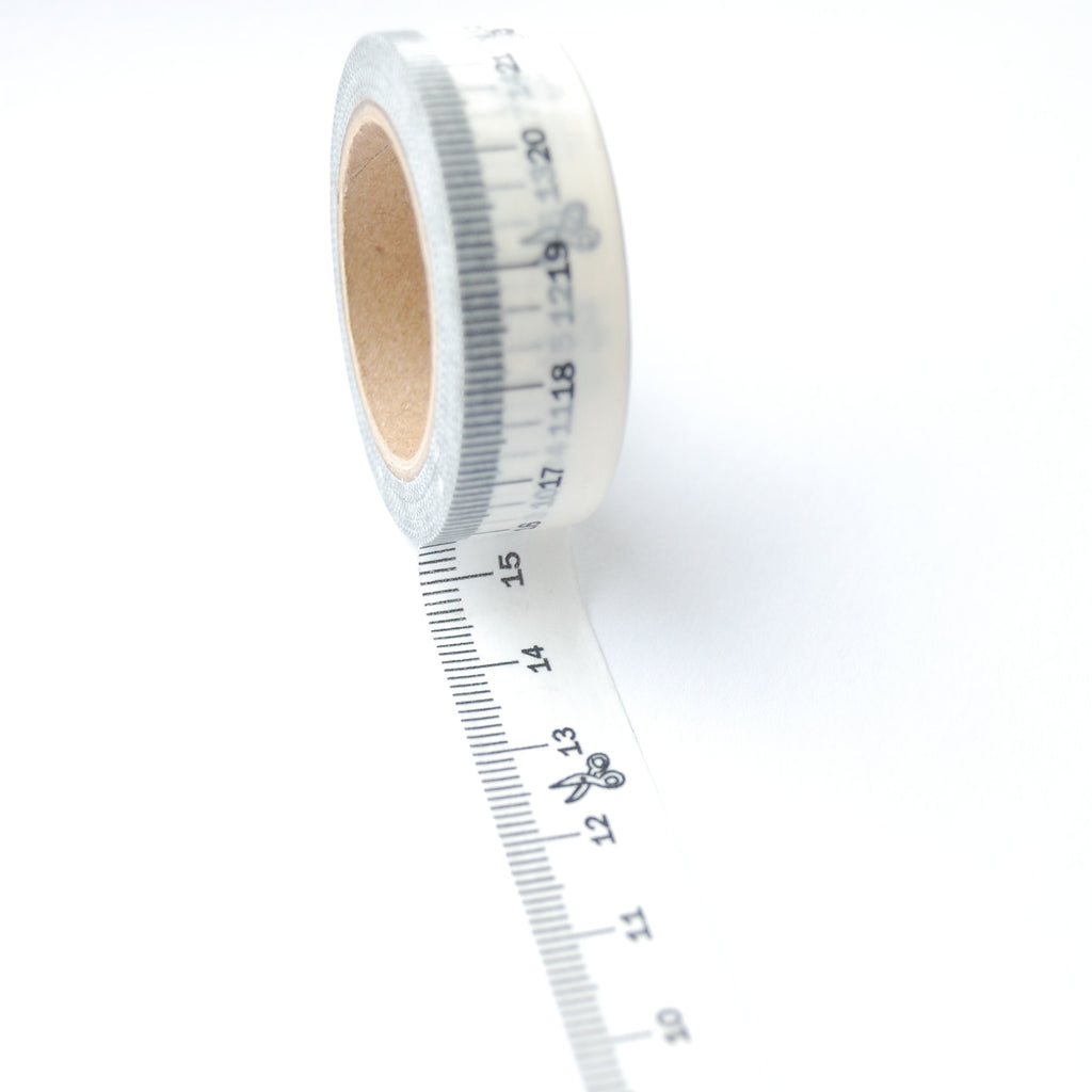 Washi Tape : Measuring Tape