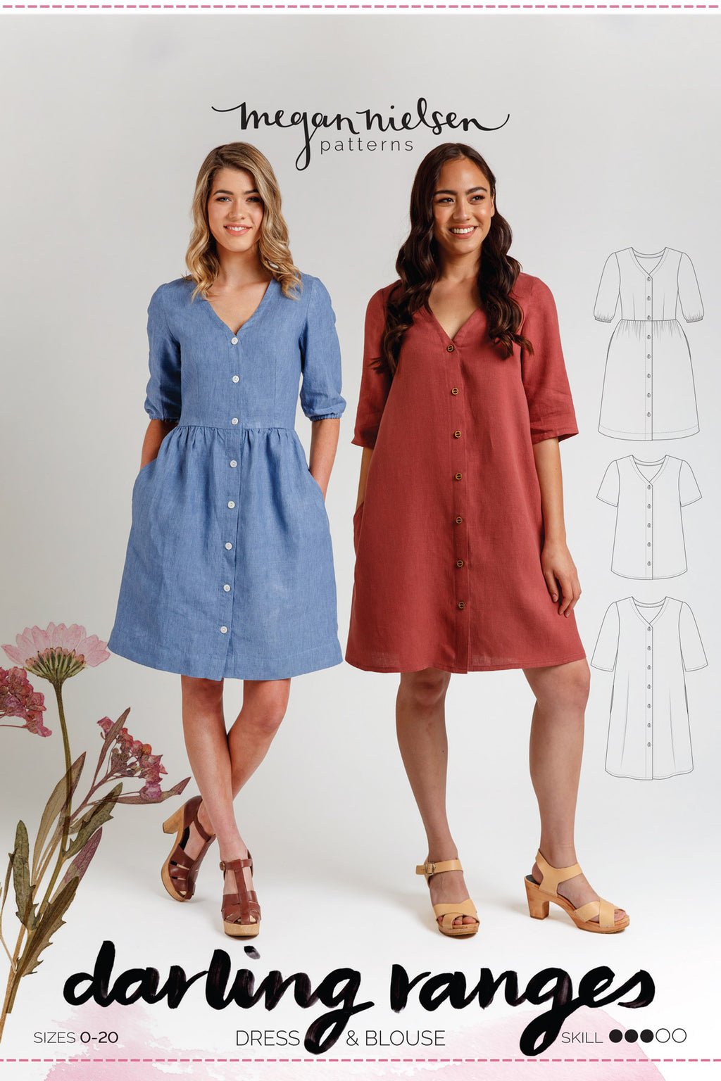 Megan Nielsen Darling Ranges Dress & Blouse