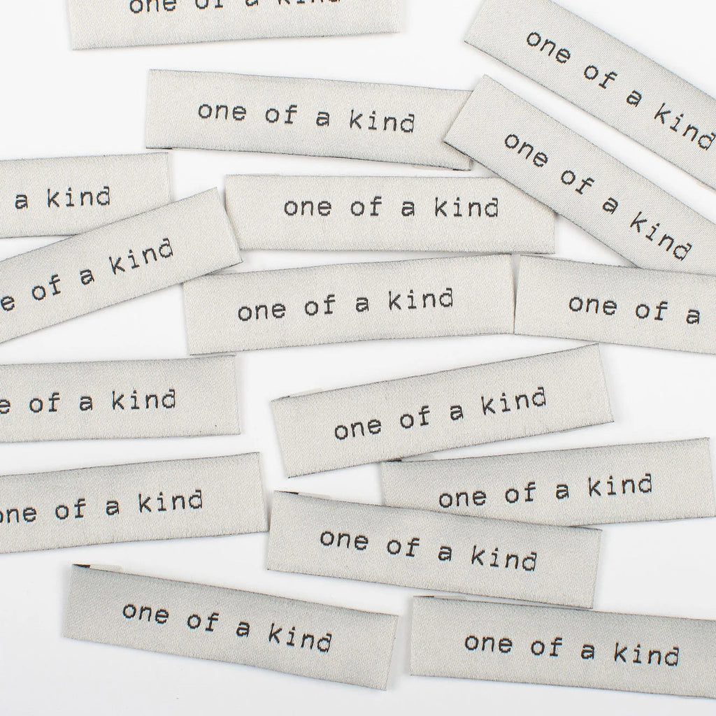 Kylie & The Machine - One Of A Kind - Woven Labels 8 Pack