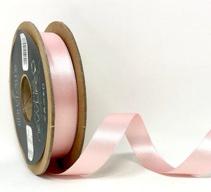 Berisfords NewLife Satin Ribbon - Pale Pink