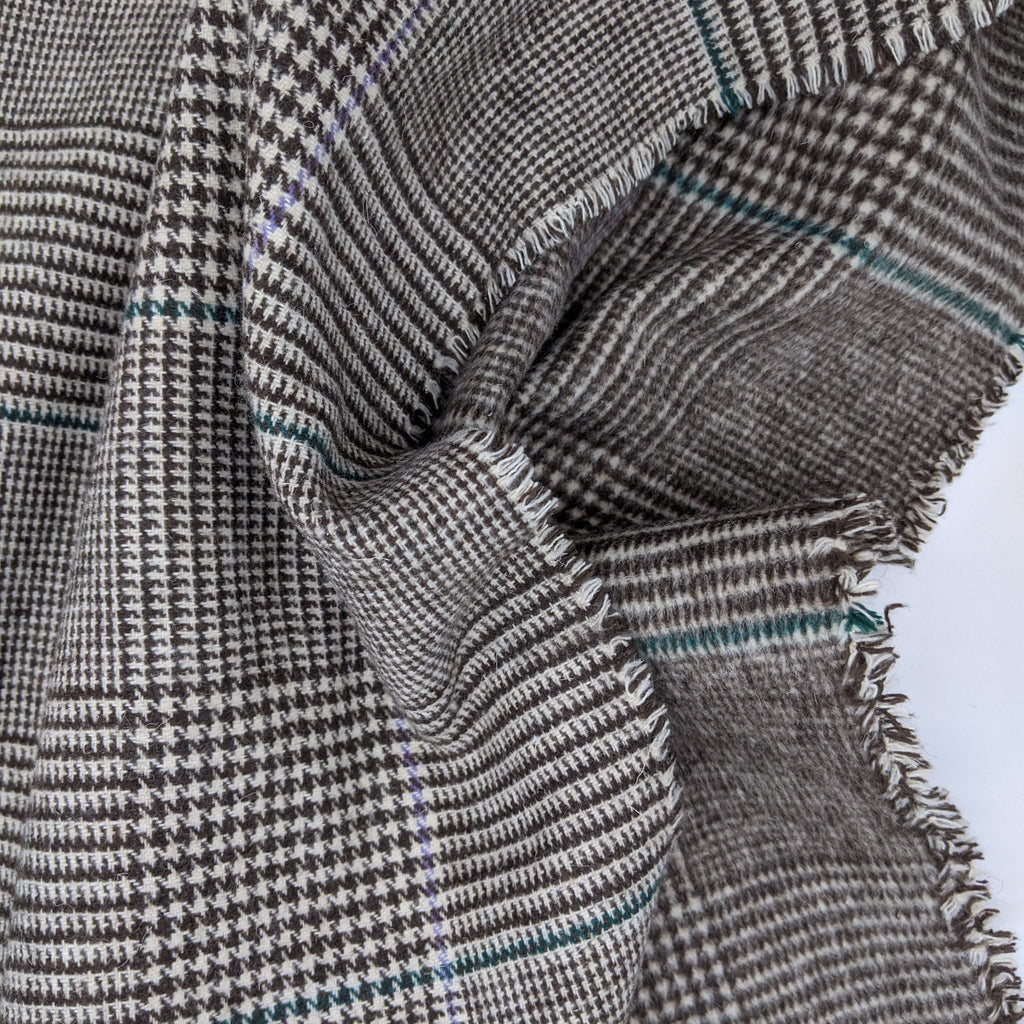Prince of Wales Check Wool Mix