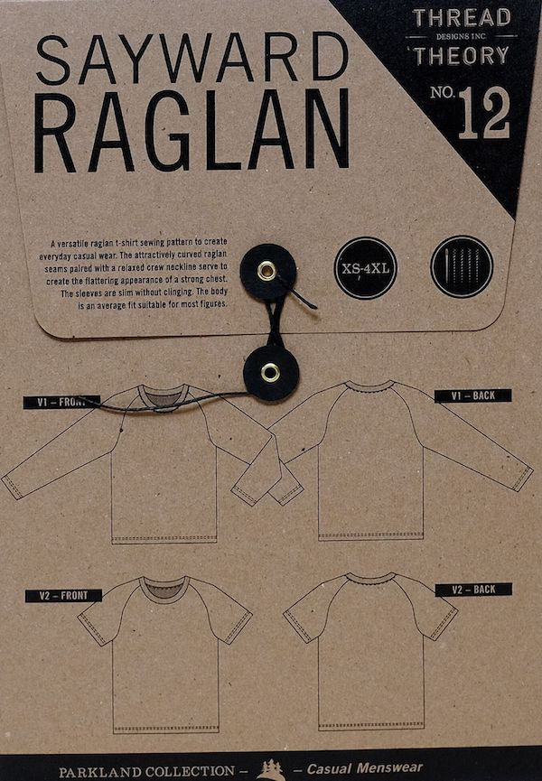 Thread Theory Designs Sayward Raglan T-Shirt
