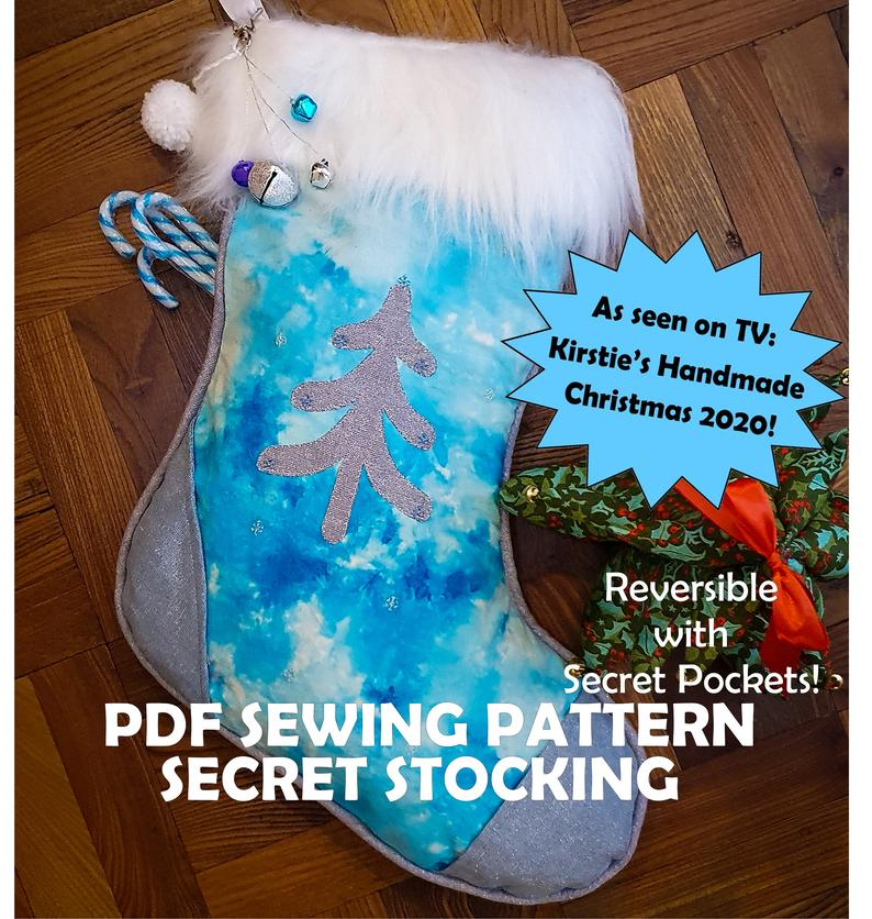 Make! The Lakes - Secret Stocking - PDF Pattern