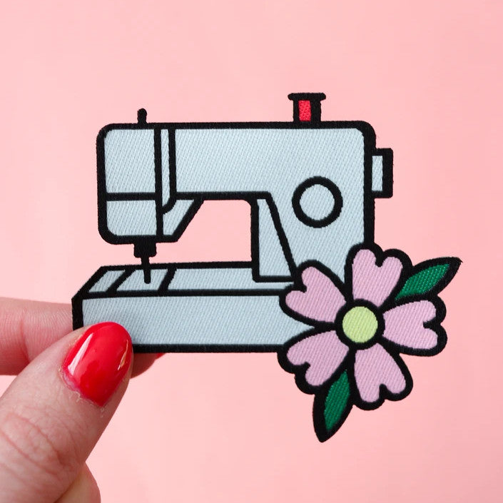 Crafty Pinup - Sewing Machine Woven Patch
